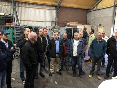 משלחת לולנים בחברת ונקומטיק שבהולנד